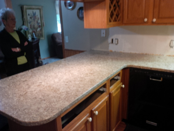 finished countertops that delight!